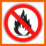 Keep flammable materials away from heat sources
